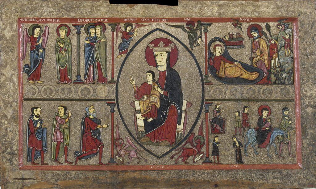 Frontal d'altar de Cardet, Iohannes. Taller de la Ribagorça, segona meitat del segle XIII