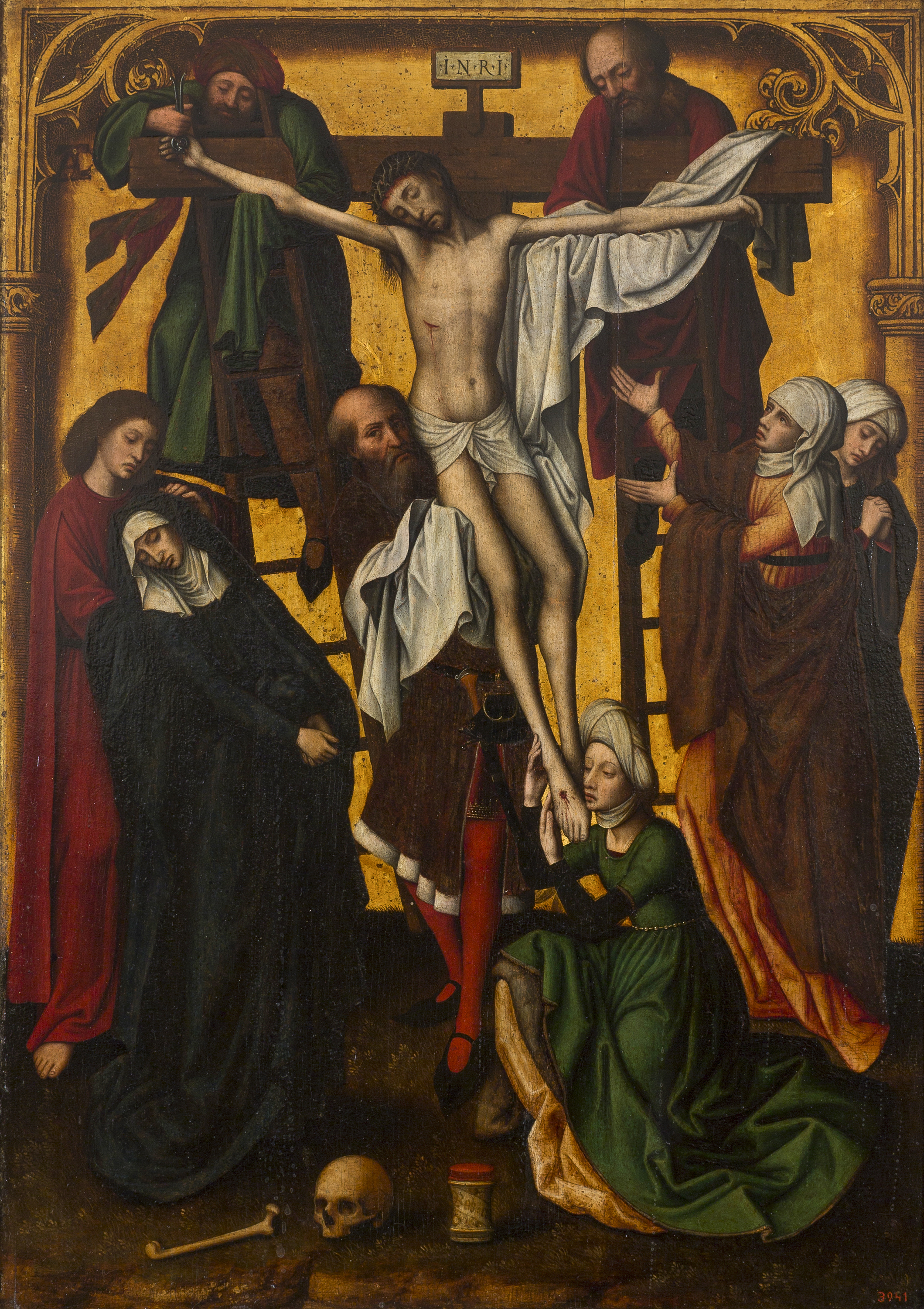 Marcellus Coffermans, Descent from the Cross, Third quarter of the 16th century