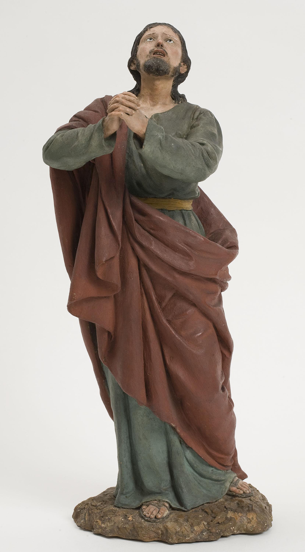 Ramon Amadeu. Jesús orant a l'hort de Getsemaní, cap a 1809-1821
