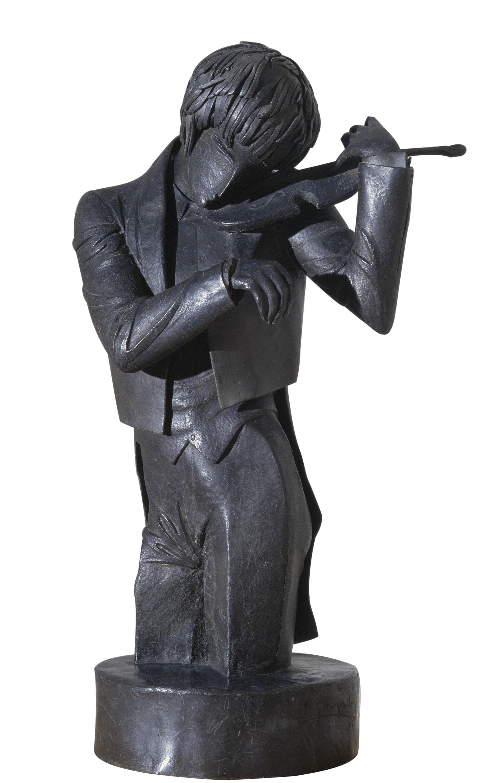 Pablo Gargallo, El violinista, 1920