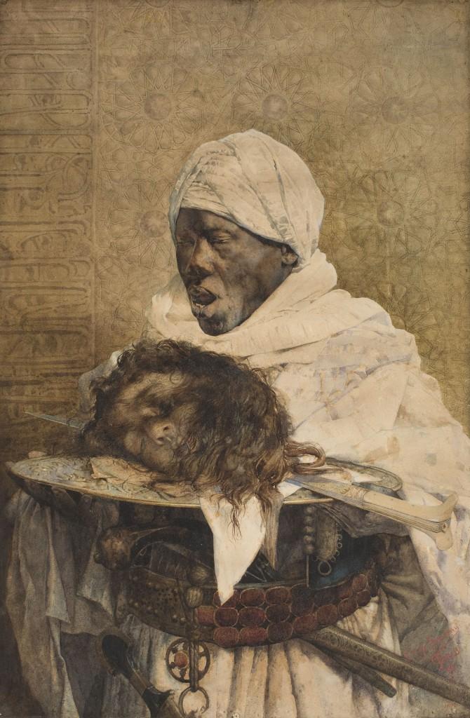 Giuseppe Signorini, La justícia al Marroc, 1890
