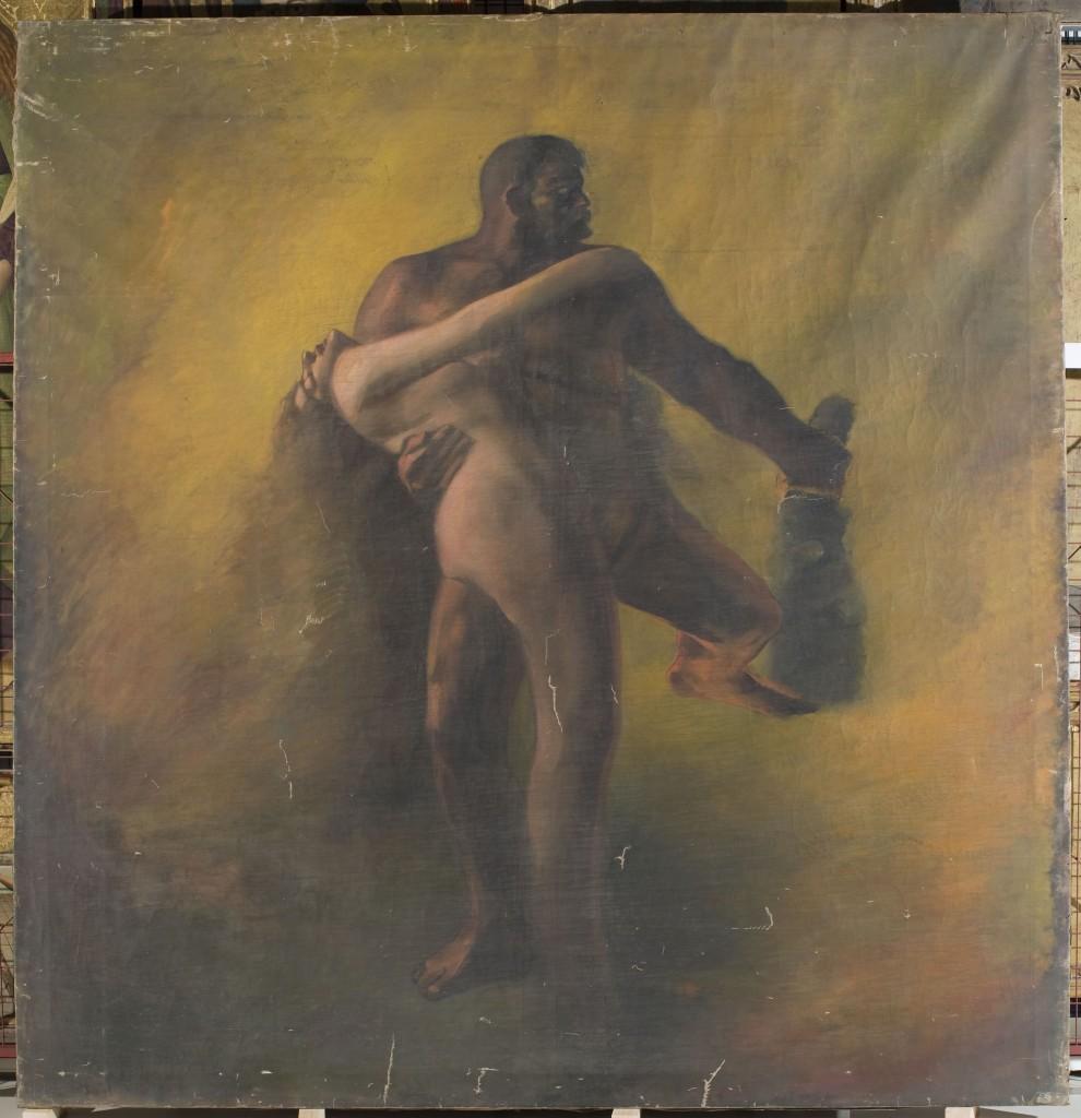 Aleix Clapés, Hèrcules i Pirene, cap a 1890
