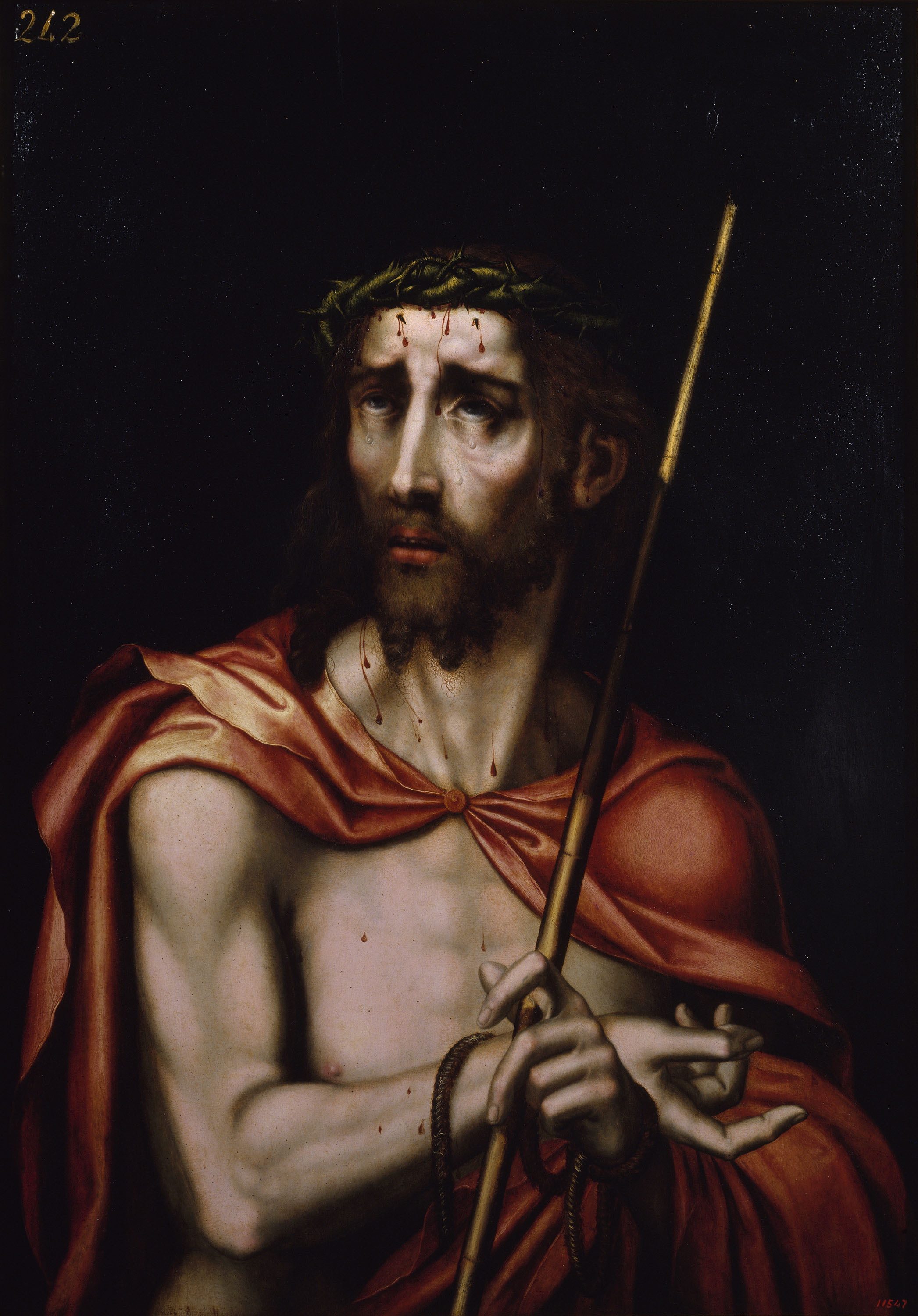 Workshop of Luis de Morales. Ecce Homo, between 1570-1580