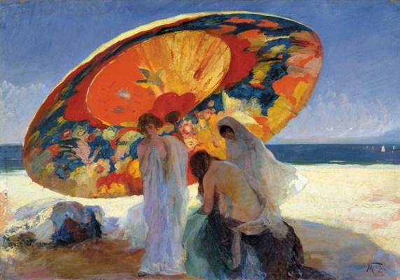 Lluís Masriera, Sombras reflejadas, 1920