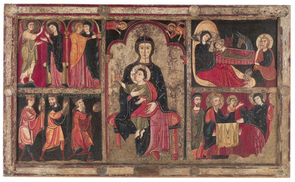 Frontal d'altar d'Avià, anònim, cap a 1200