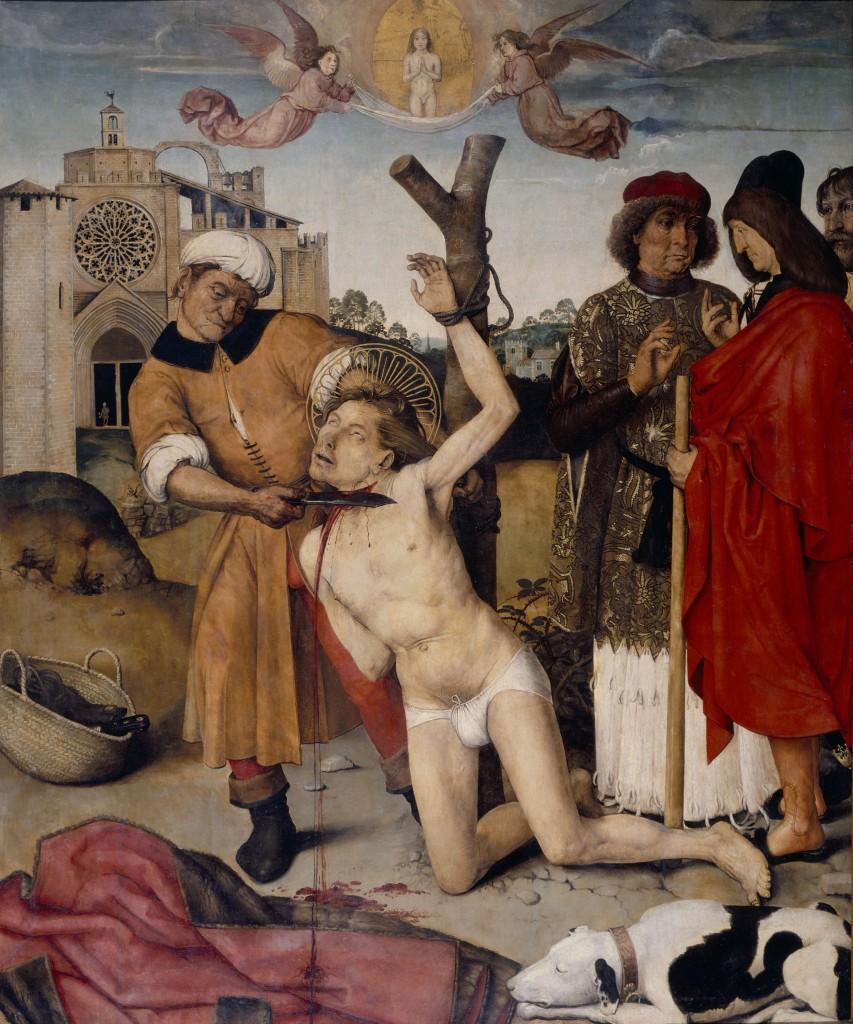 Ayne Bru, Martiri de sant Cugat, 1502-1507