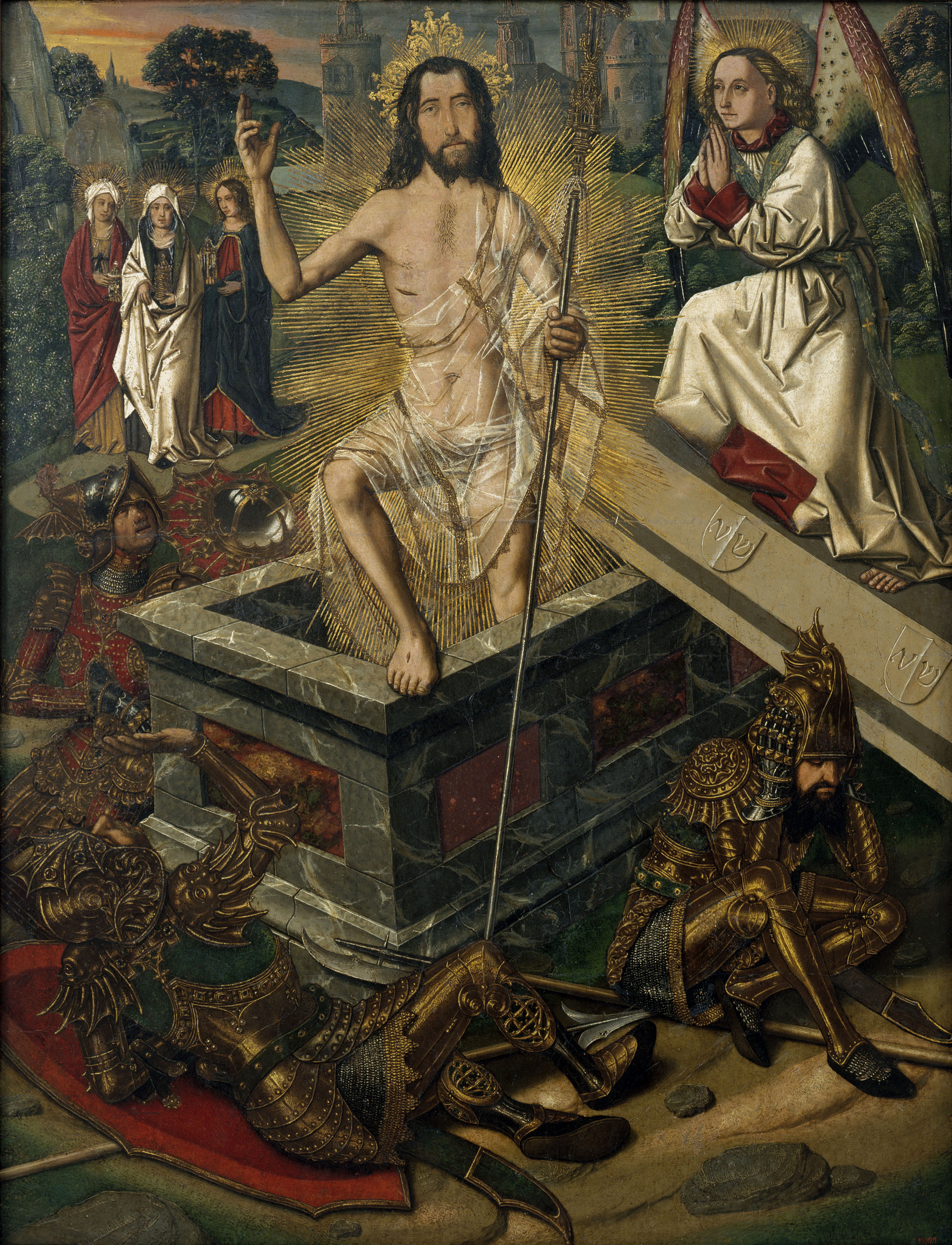 Bartolomé Bermejo, The Resurrection, around 1475