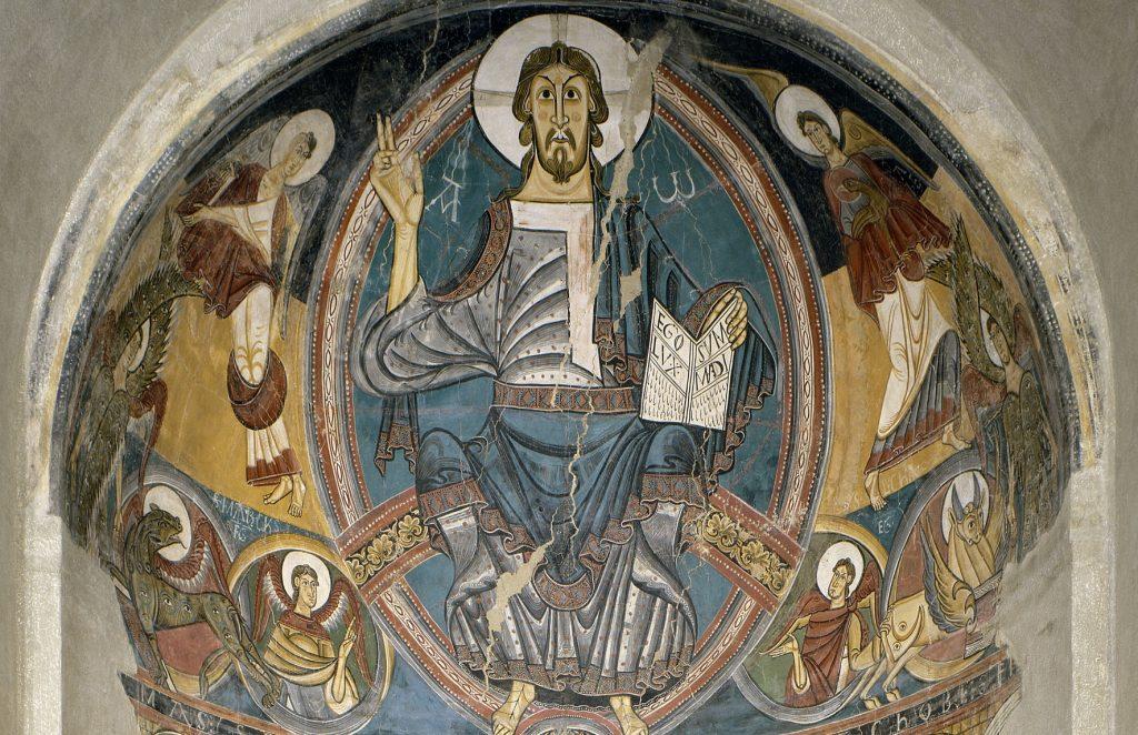 Absis de Sant Climent de Taüll, Mestre de Taüll, cap a 1123