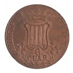 016377-N_071181 Isabel II 6 quartos revers