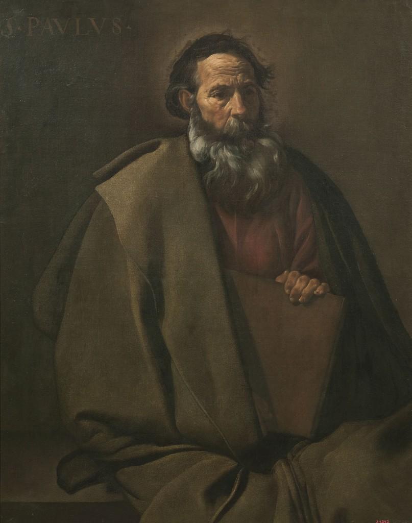Diego Velázquez, Sant Pau, cap a 1619