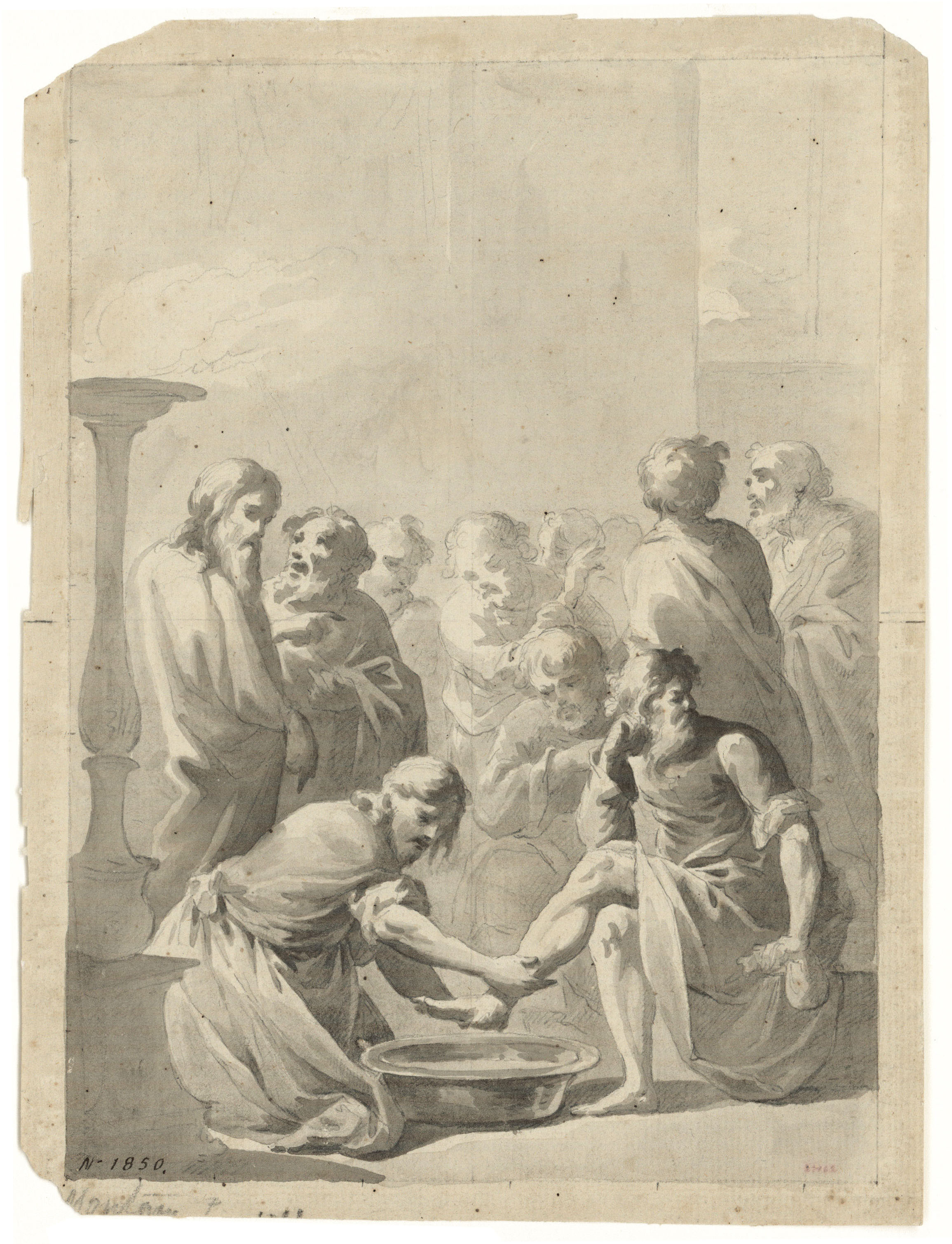 Pere Pau Montaña Llanas, The Washing of the Feet, 1780. Work not on display