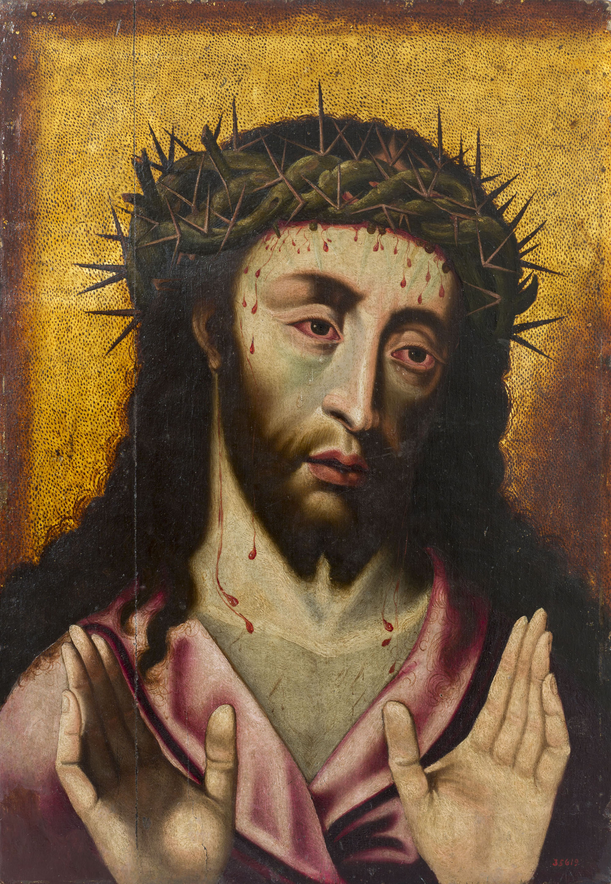 Anonymous. Man of Sorrows, second quarter of the 16th century
