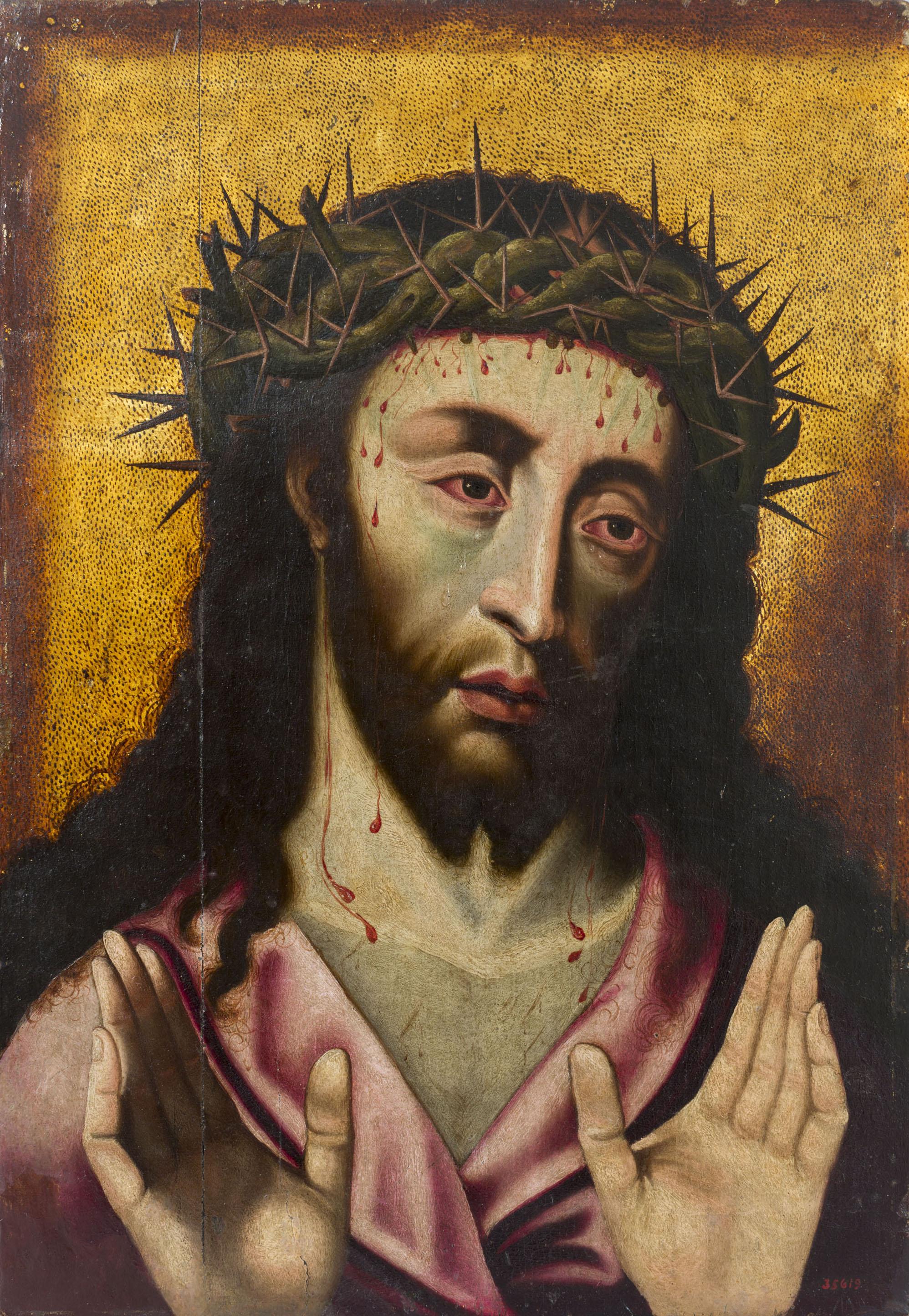 Anònim, Crist Baró de Dolors, segon quart del segle XVI