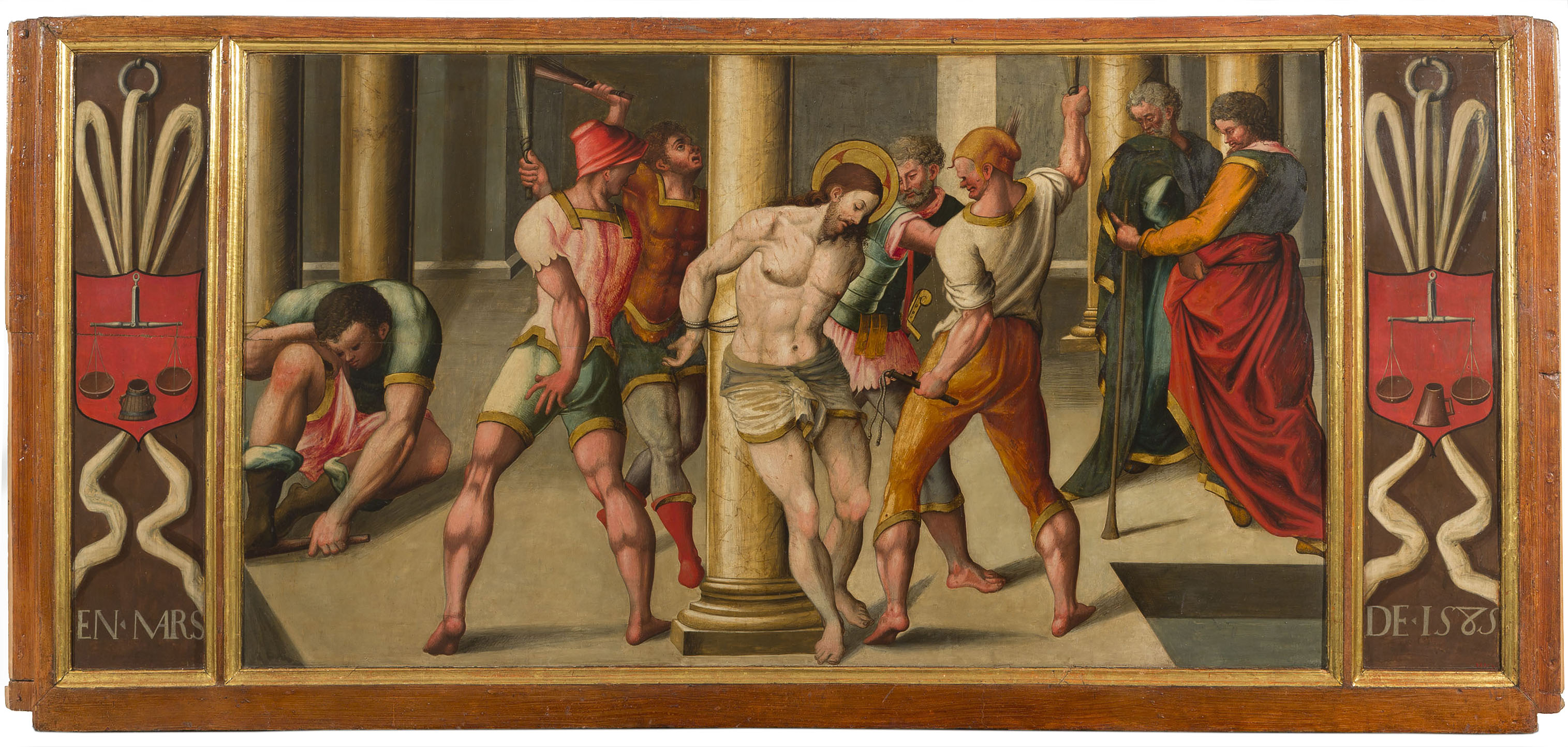 Anonymous. The Flagellation of Christ, 1585