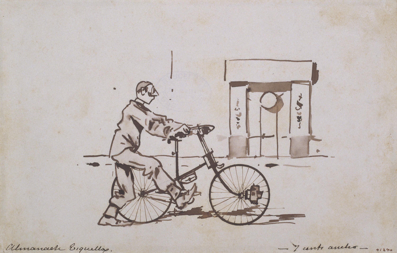 Ramon Casas, Ciclista. L'anada i Ciclista. La tornada
