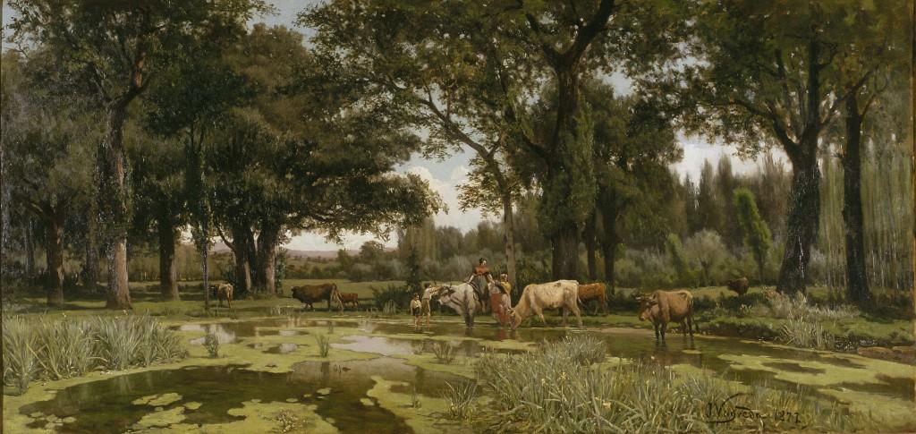 Joaquim Vayreda, L'estiu, 1877