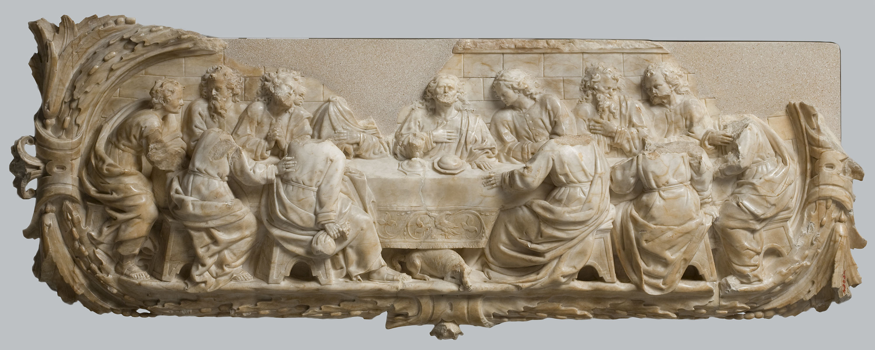Isidre Espinalt, The Last Supper, 1695
