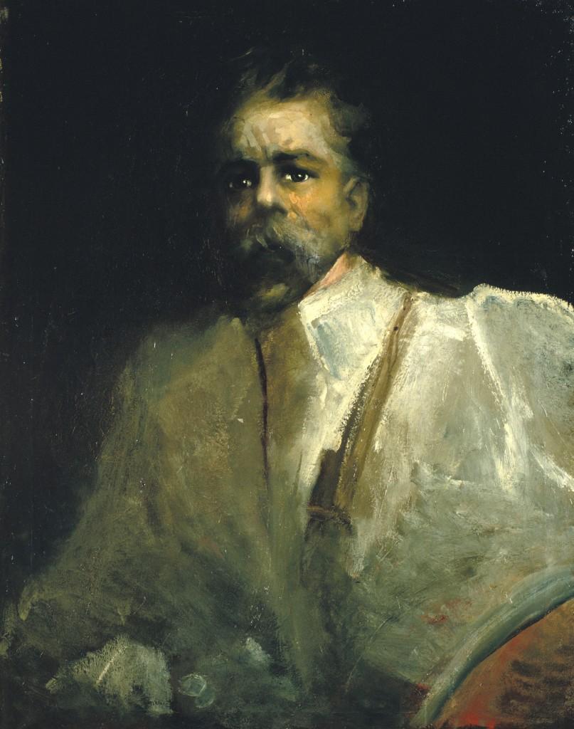 Aleix Clapés, Autoretrat, cap a 1902