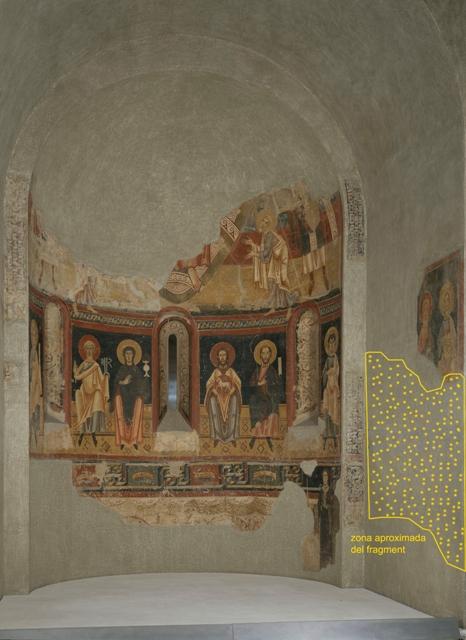 Pintures a la col•lecció d'art romànic (sala 4). Gràfica sobreposada: Paz Marquès 113138-CJT_002709