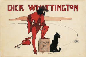 William True. <em>Dick Whittington</em>, 1901 o anterior.