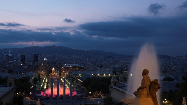 1. Vista a plaça d'Espanya 2011 (c) Octavio Muñoz