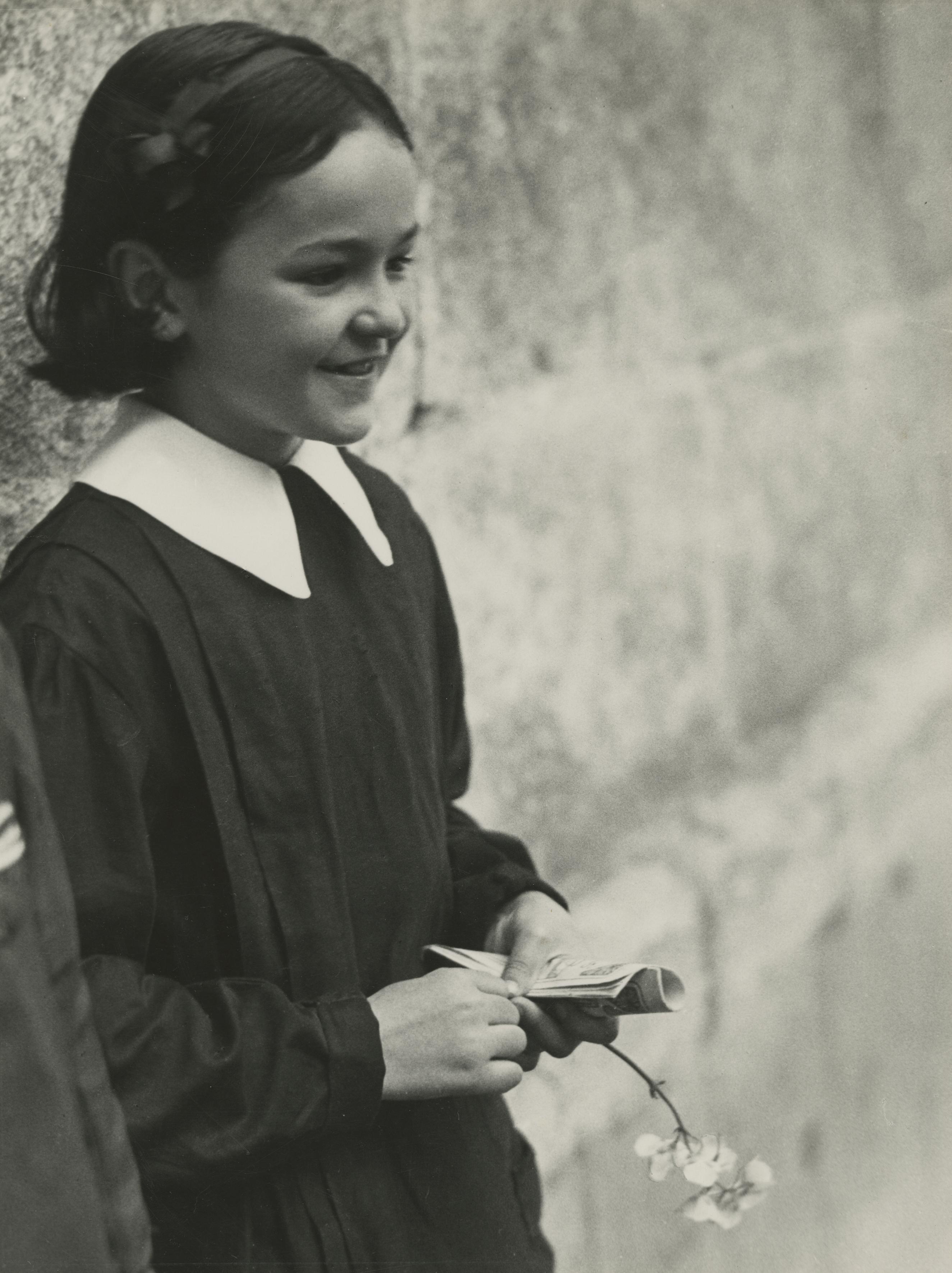 Schulmädchen, Gerona, 1933