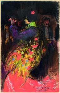 Carles Casagemas. Manola. Barcelona or París, 1900-1901. Col·lecció privada Felip Massot.
