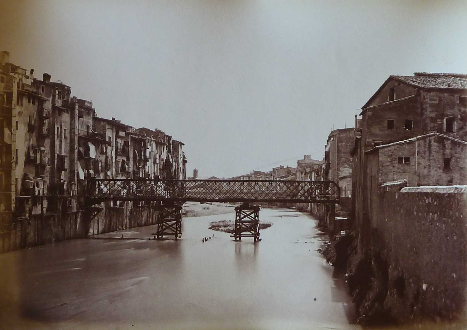Pont de ferro inaugurat el 1877