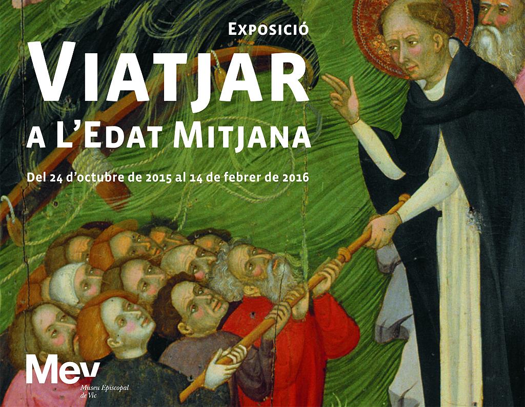 Lluis Borrassà, Sant Domènec salva uns nàufrags. 1414 – 1415. Vic, Museu Episcopal