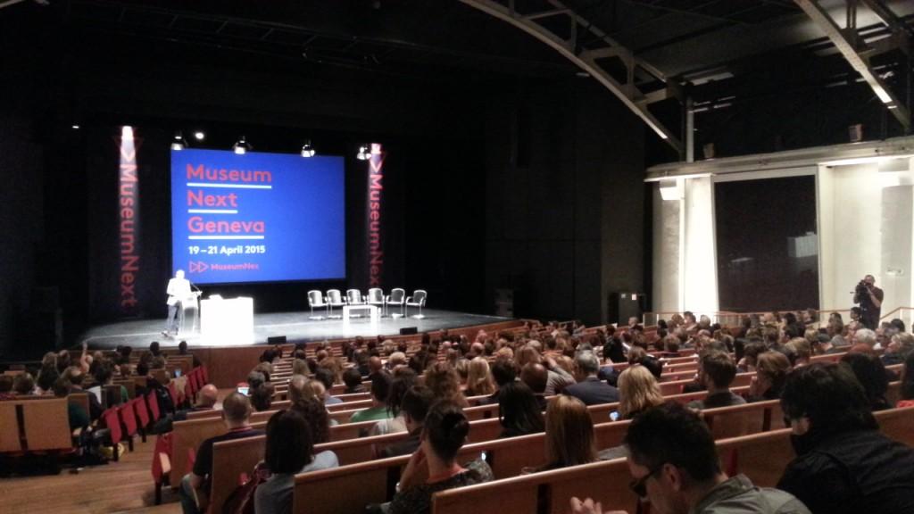 MuseumNext 2015 opening, Geneva. Photo: Conxa Rodà