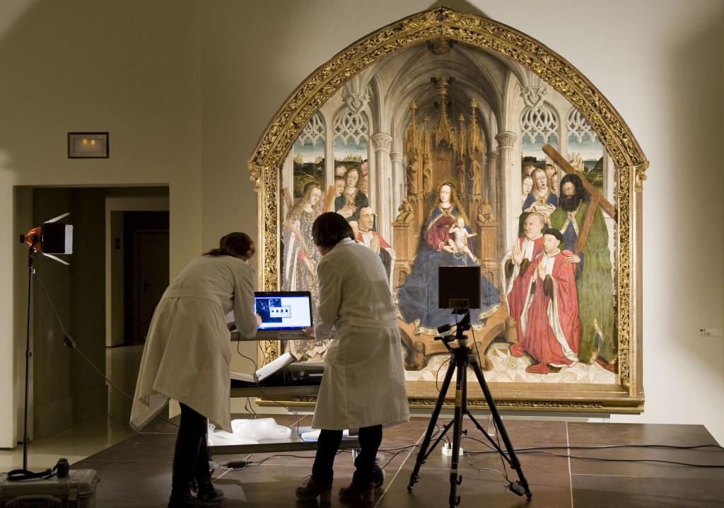 Estudis tècnics de les obres d'art