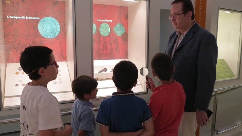 Sala d'exposicions de numismàtica