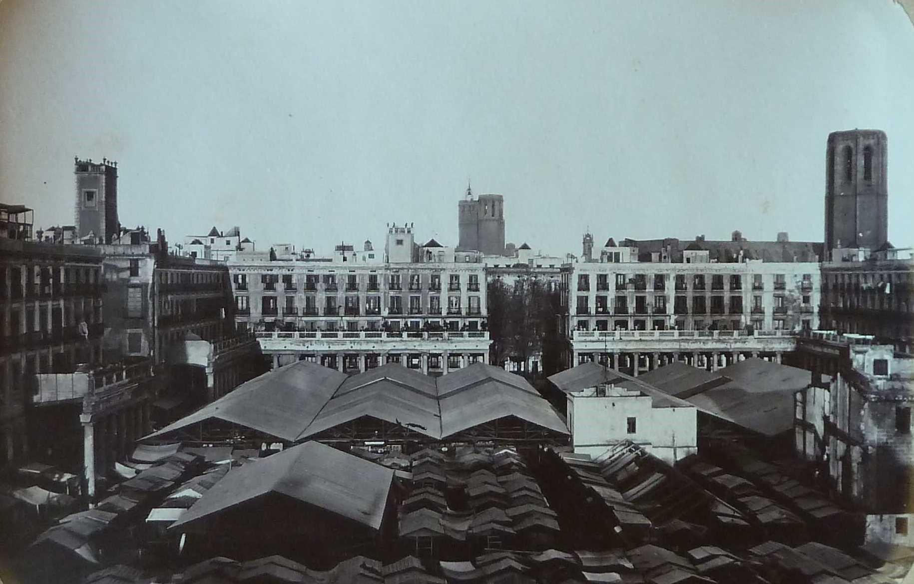 Plate 9. The Sant Josep Market, known as 'La Boqueria'