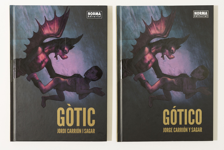 Coberta del còmic Gòtic