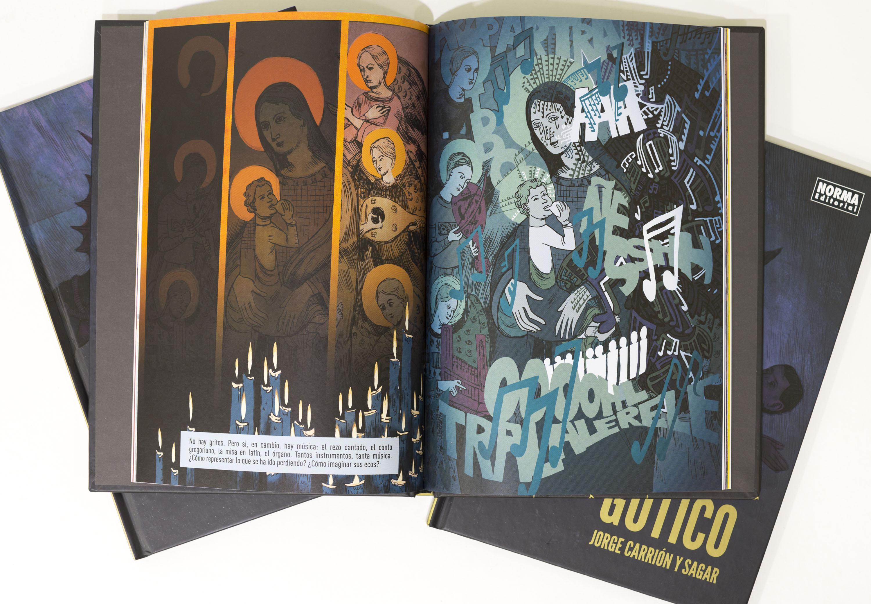 Còmic Gòtic, de Jorge Carrión i Sagar Fornies