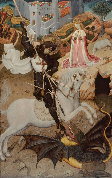 378px-Bernat_Martorell_-_Saint_George_Killing_the_Dragon_-_Google_Art_Project (1)