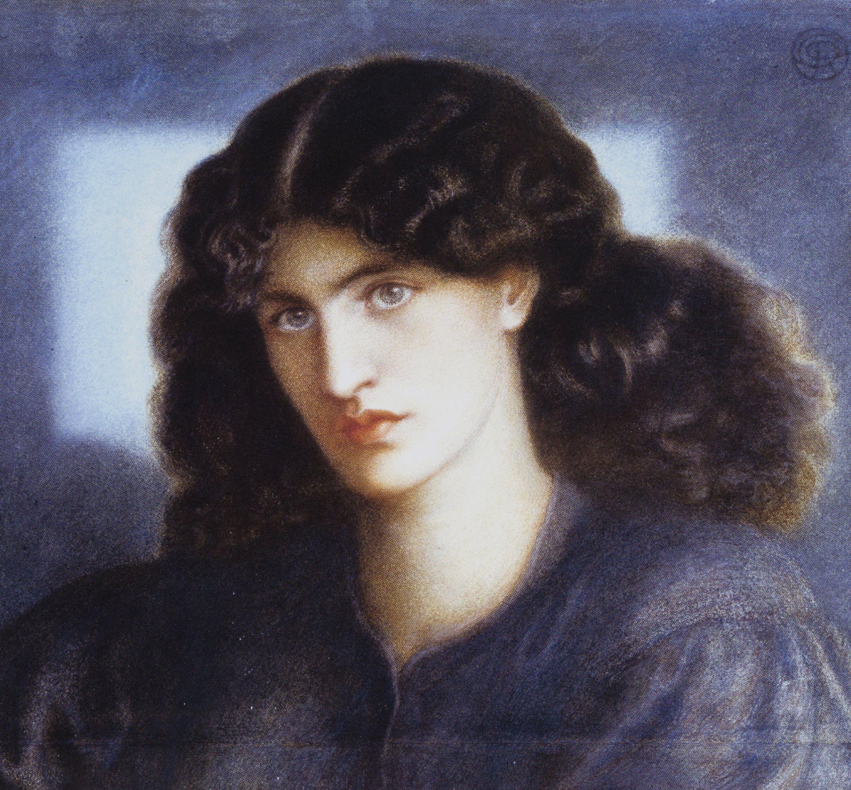 Dante Gabriel Rosetti, La Donna della finestra (Portrait of Jane Morris ), 1870. Museums and Galleries, City of bradford MDC