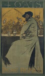 Ramon Casas. <em>4 Gats</em>, 1900.