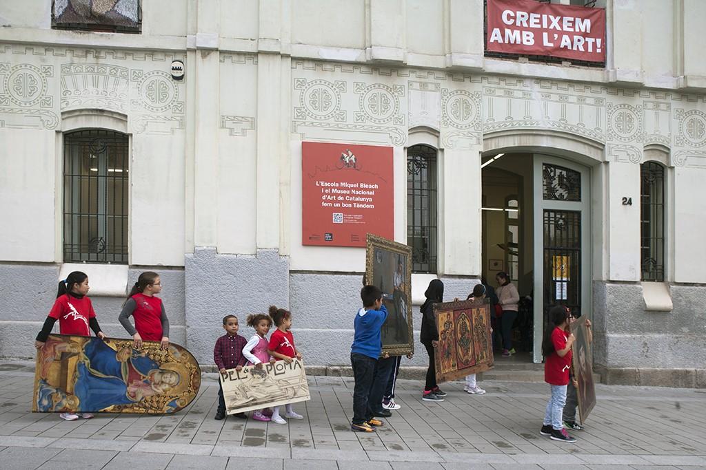 Tàndem: escola i museu