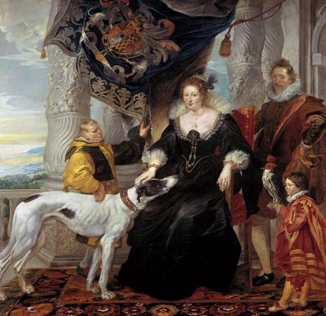Peter Paul Rubens, Porträt der Aletheia Talbot, Gräfin Arundel, 1620