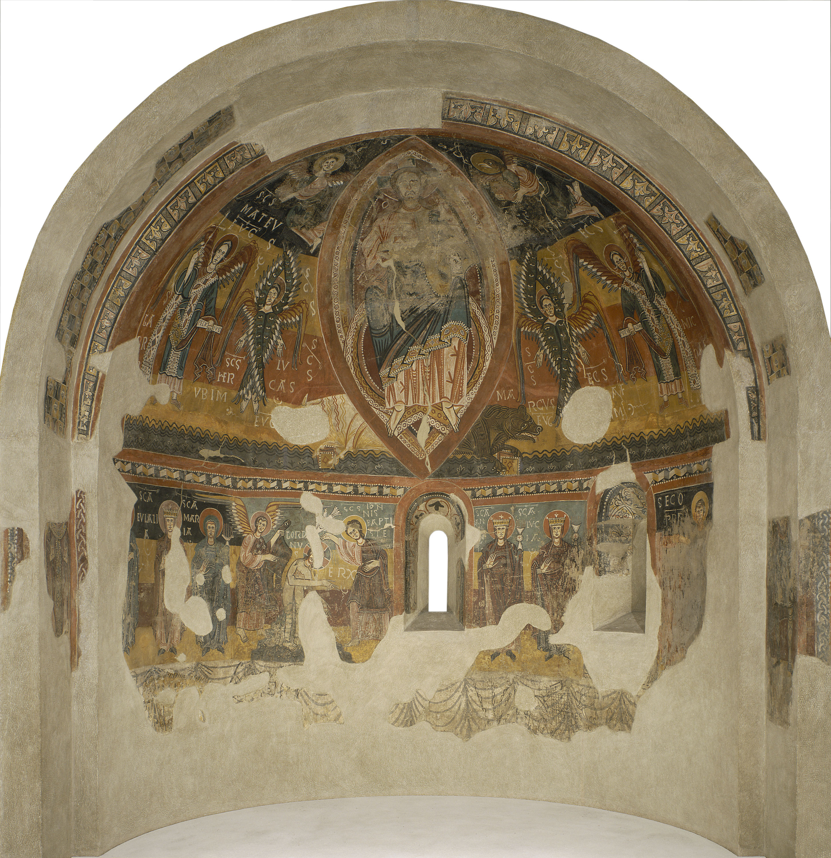 Apse of Estaon, Mid-12th century