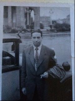 Adolf Linhard in Barcelona, 1952