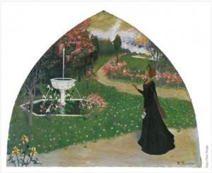 Allegory of Poetry by Santiago Rusiñol
