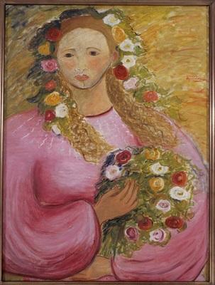 Anna Aguilera. Ofrena als nostres combatents (c. 1937). Museu Nacional d'Art de Catalunya.