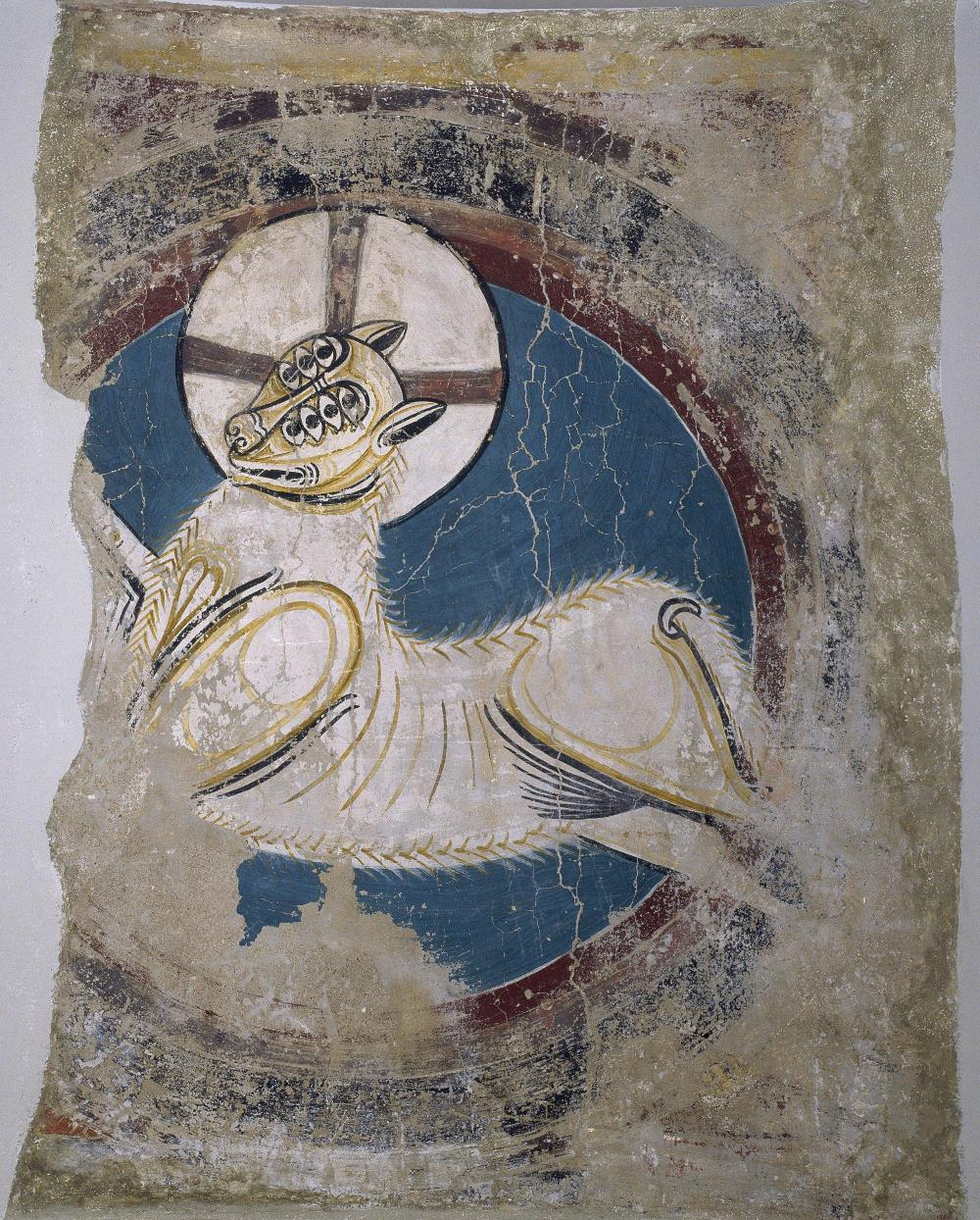 Arch of the Apocalyptic Lamb from Sant Climent de Taüll, circa 1123