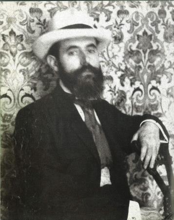 Autorretrato de Gaspar Homar, c. 1909, Museu Nacional d'Art de Catalunya