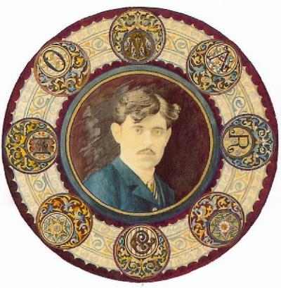 Autorretrato de Gaspar Homar, colección particular