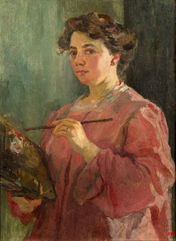 Lluïsa Vidal, Self-portrait, c. 1899