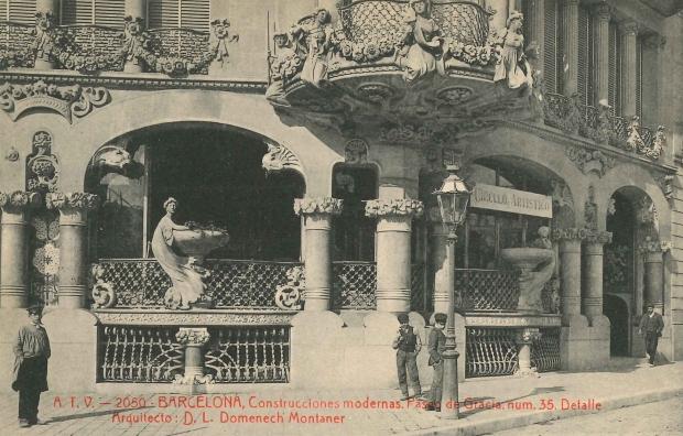 Imatge de la Casa Lleó Morera.