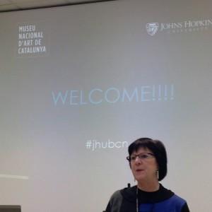 Benvinguda JHU al Museu Nacional